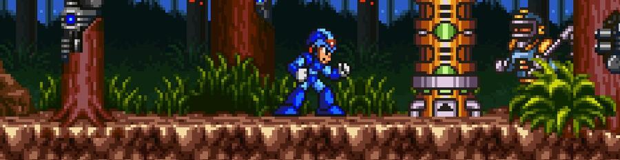 Mega Man X Banner