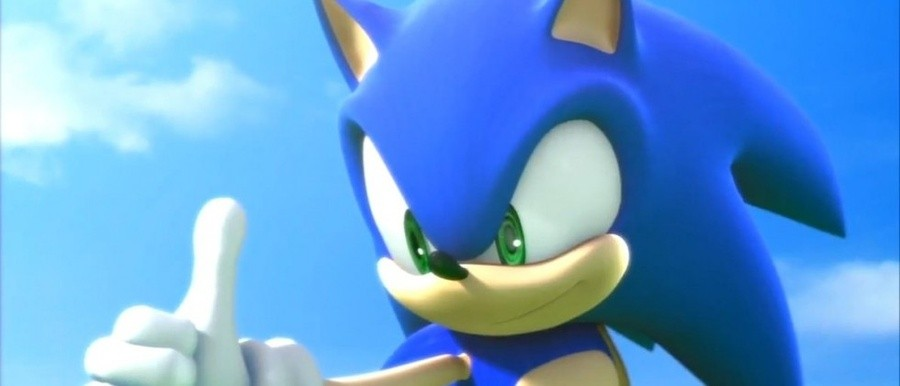 Sonic's ready for his close-up