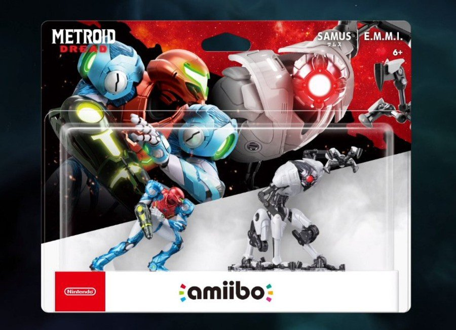 Metroid Dread Amiibo Pack 2