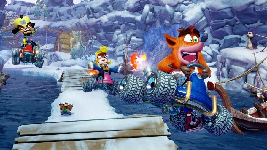 Crash Team Racing IMG Snow