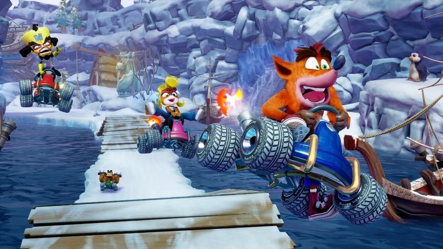 Crash Team Racing IMG Snow
