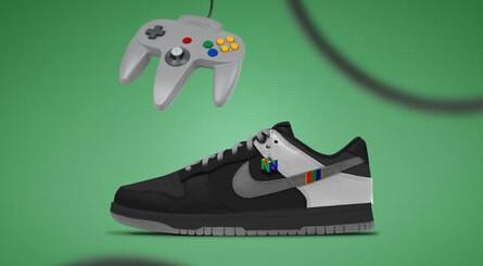 KONSEPT Süper Nintendo 64 Nike Dunks