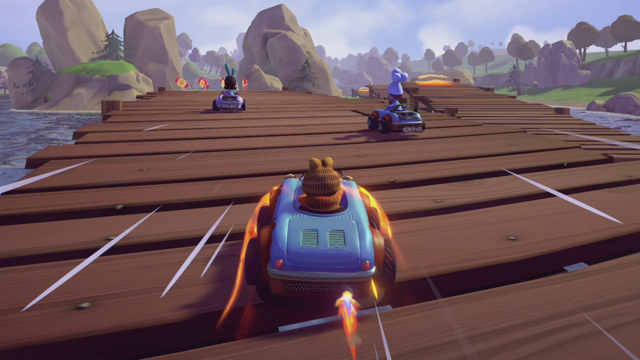 Move Over Mario Garfield Kart Is Back And It S Coming To Switch Nintendo Life