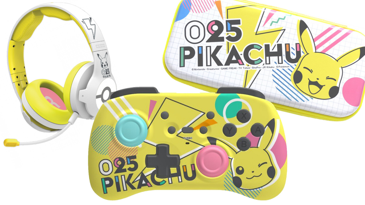Deals: Pokémon Fan? Check Out This New Line Of Pikachu-COOL & Pikachu-POP Gear For Your Switch