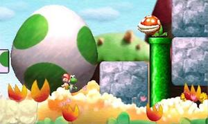 Yoshi goes bigger and better