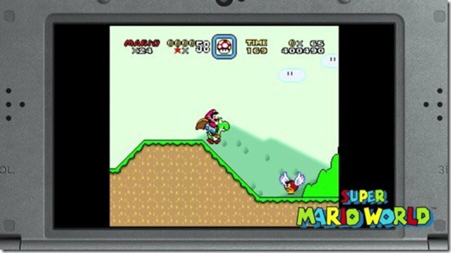 Evidently, the old 3DS can't handle this