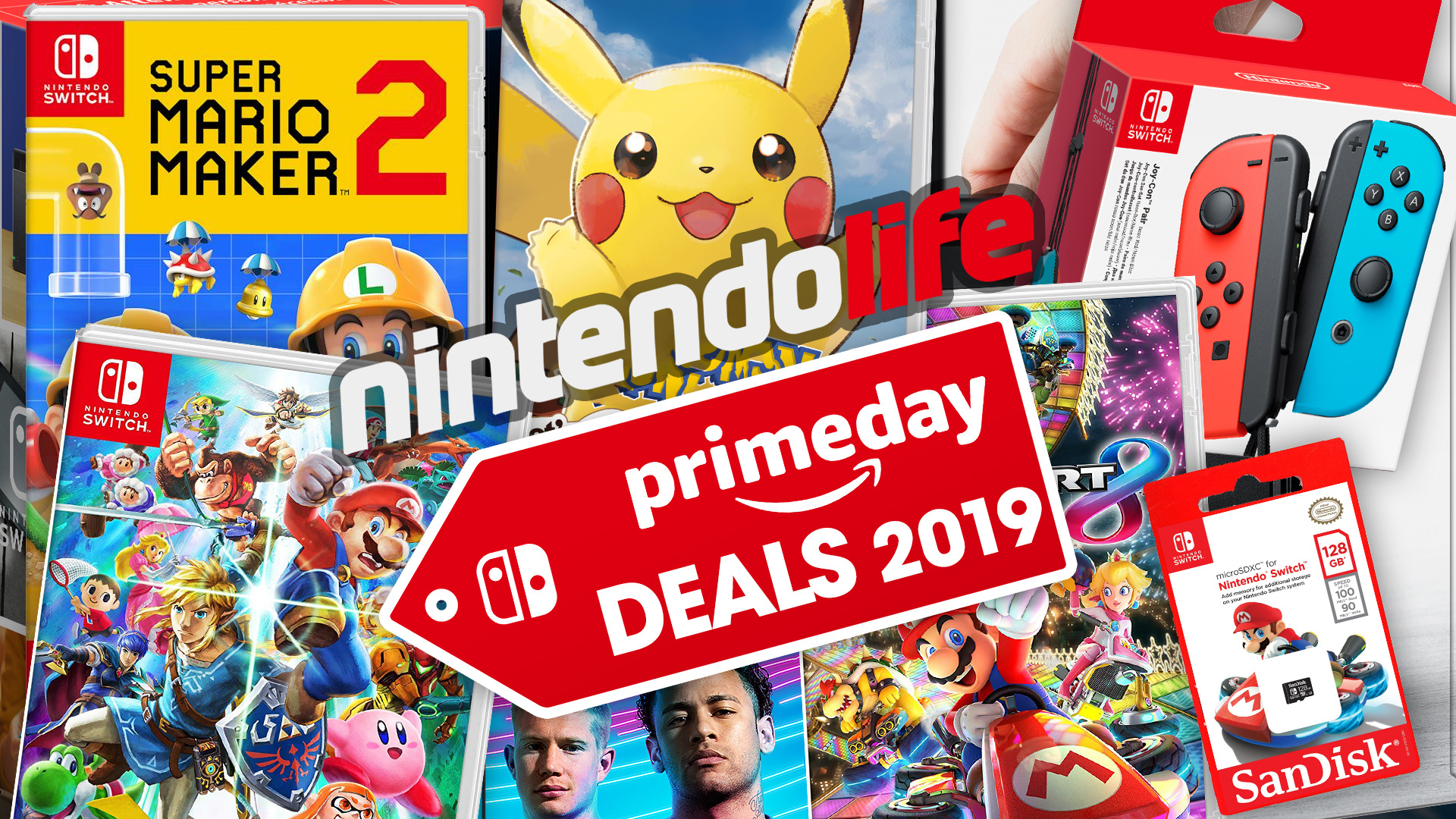 Deals: Grab A Bargain With These Nintendo Switch Console Bundles On Prime Day