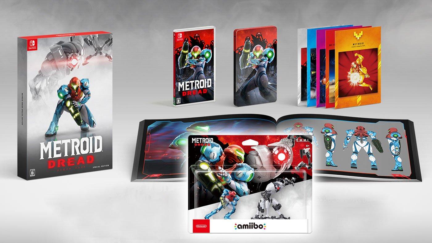 Dove preordinare Metroid Dread Special Edition, Samus & EMMI amiibo