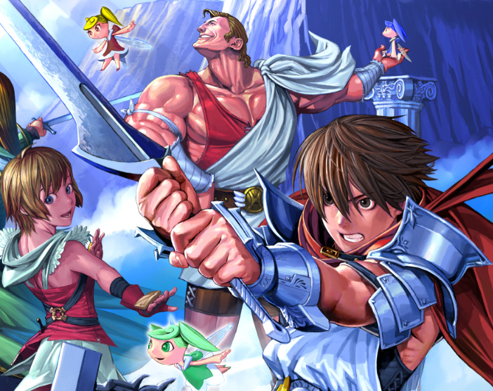 Glory of Heracles Coming to DS in January - Nintendo Life