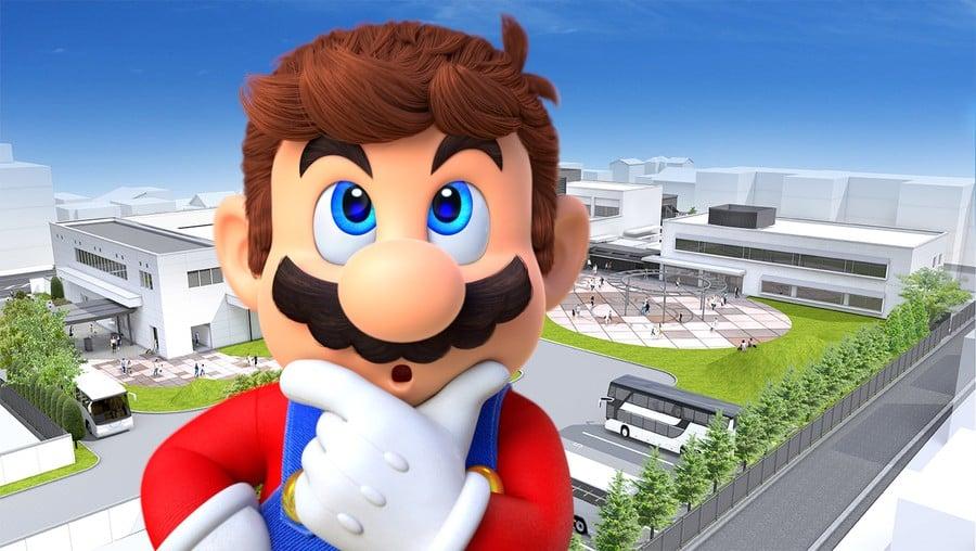 Nintendo Museum Mario