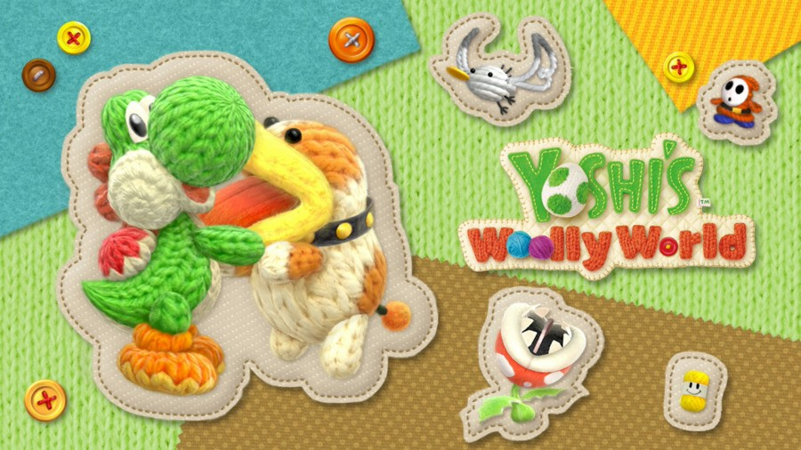 Yoshi's Woolly World - Loading Screen