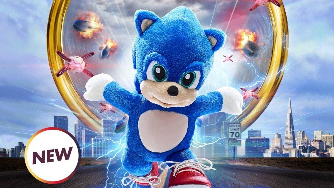 Sonic The Hedgehog Is Now Available At The Build A Bear Workshop Nintendo Life