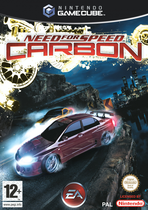 Need For Speed Carbon Cover Artwork