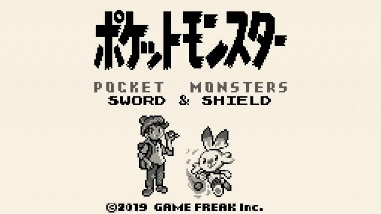 Random: Fan Reimagines Pokémon Sword And Shield As Game Boy Games