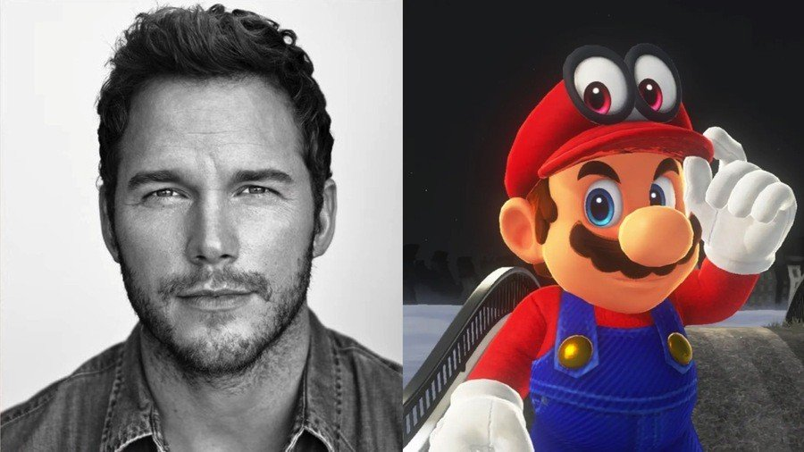 Chris Pratt - Super Mario