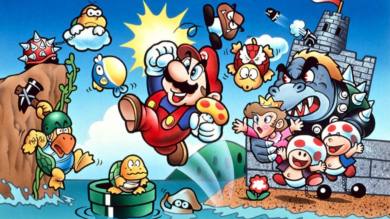 Nintendo Launches Website For The Original Super Mario Bros Game Nintendo Life