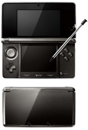 The Nintendo 3DS system in all of its sexy and glossy glory!