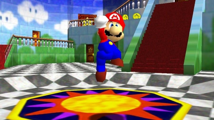 Super Mario 64 as seen in Super Mario 3D All-Stars