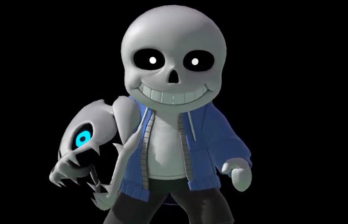 Random Sans From Undertale Makes His Debut As A
