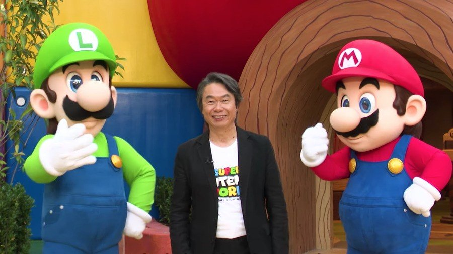 Shigeru Miyamoto, Super Nintendo World