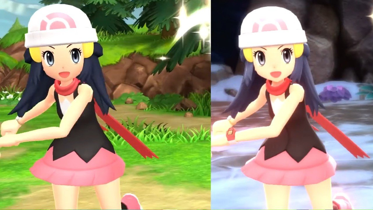 Video: Check Out This Comparison Of The Pokémon Diamond And Pearl Remake  Trailers - Nintendo Life