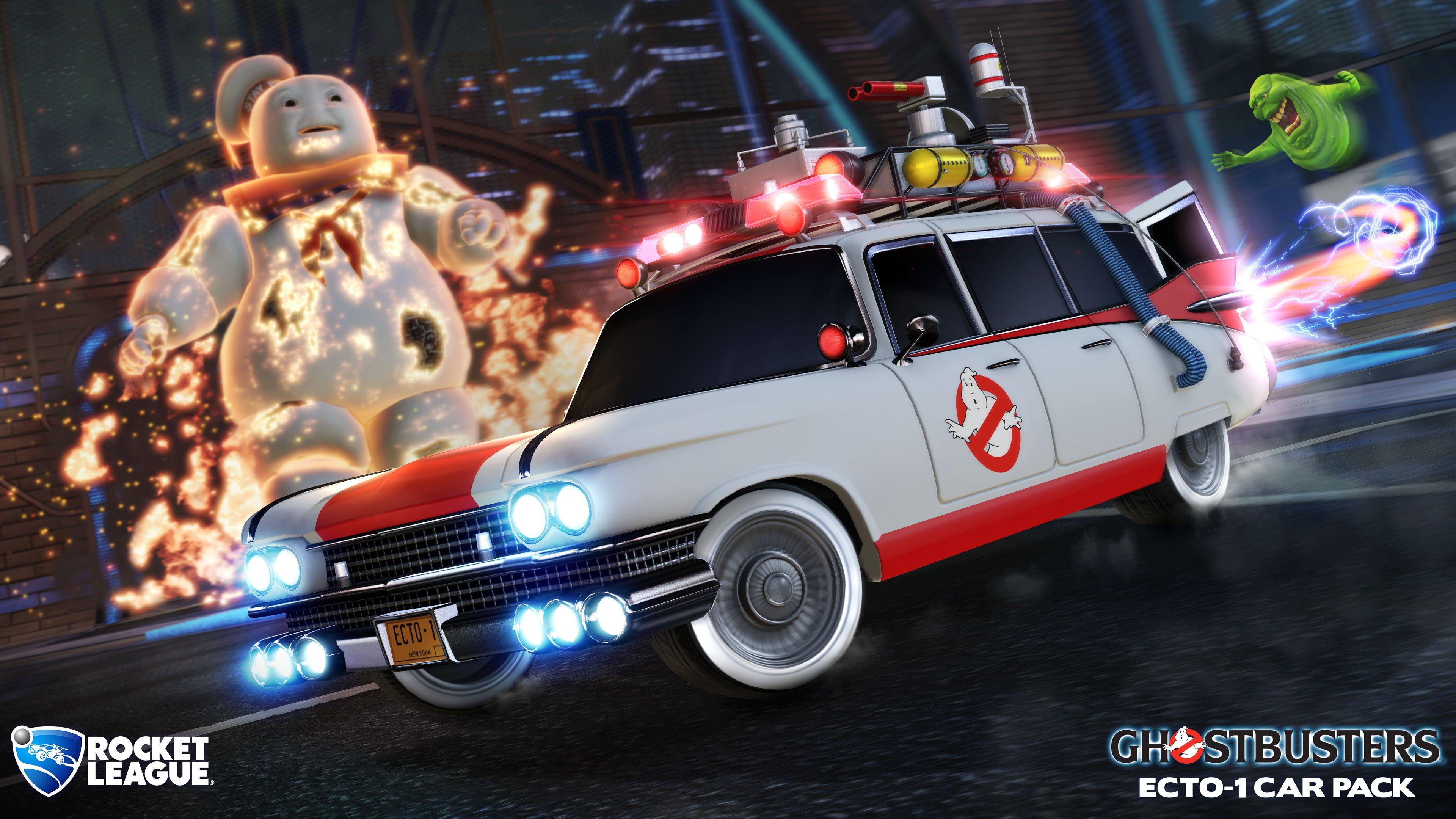Ghostbusters Car Pack Hero