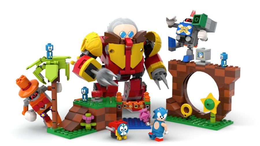 Lego Ideas Sonic