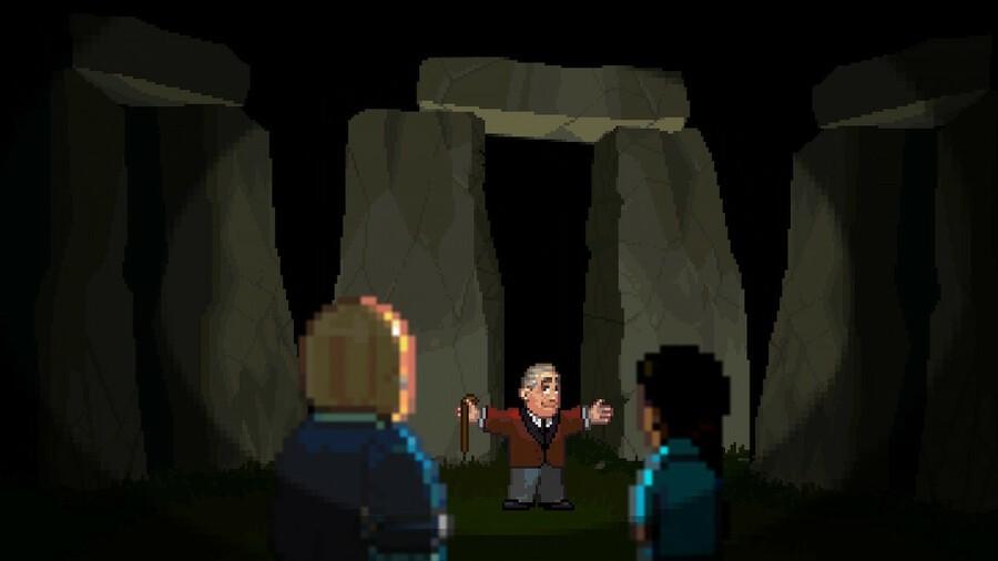 Horace Old Man Stonehenge