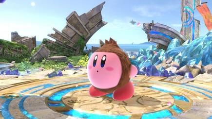 2. Donkey Kong Kirby