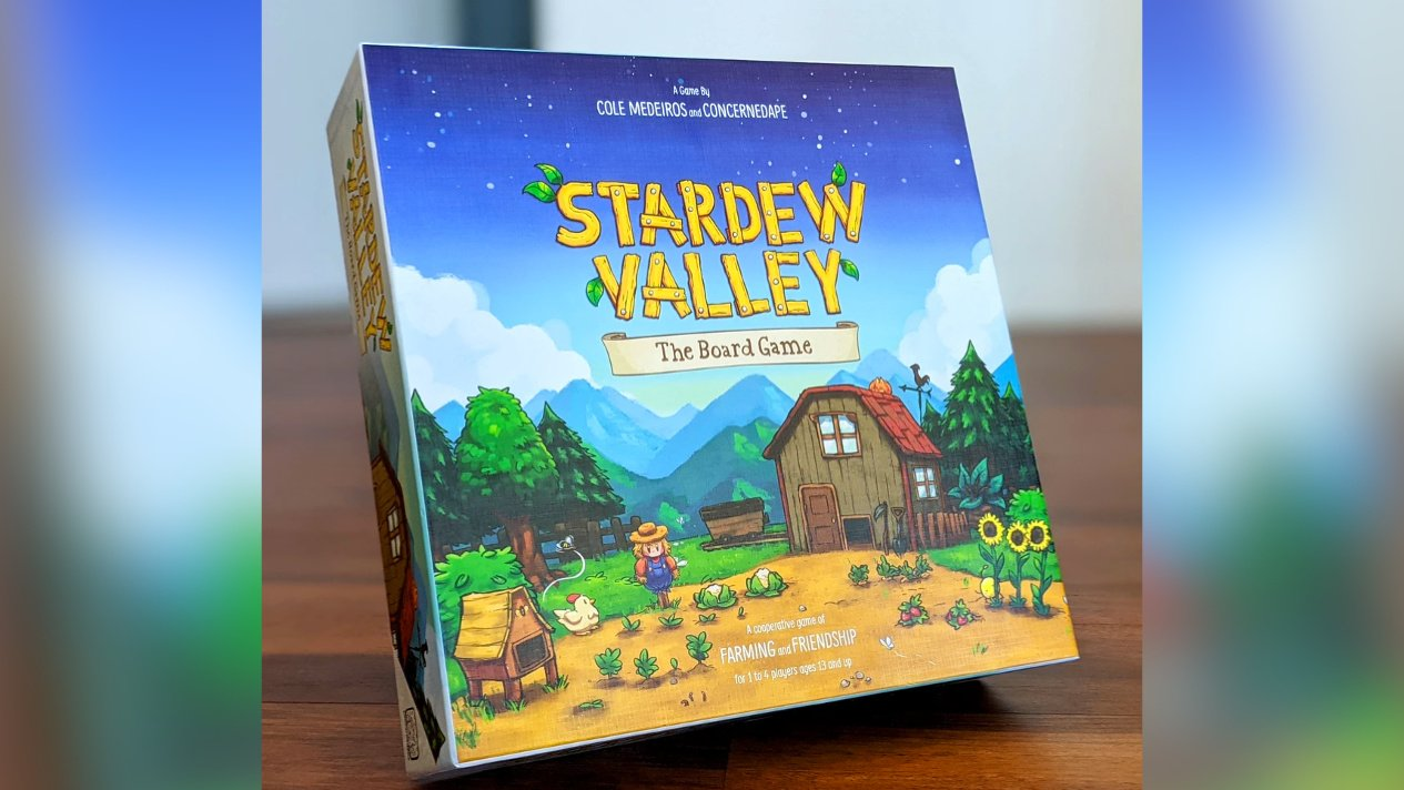 Here's Your First Look At Stardew Valley's Charming Board Game, Out Today