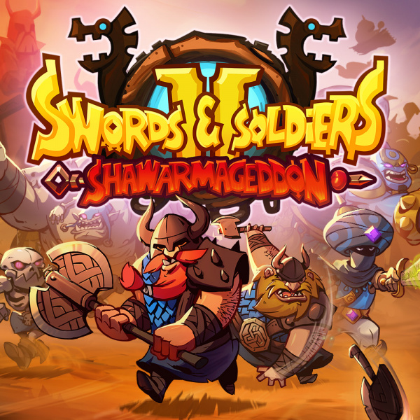 Resultado de imagen de Swords and Soldiers 2 Shawarmageddon ps4 caratula