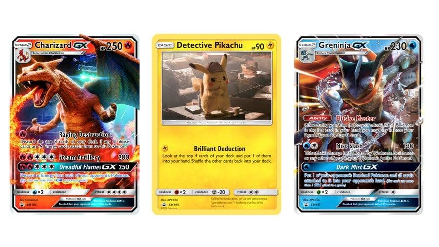 Detective Pikachu cards