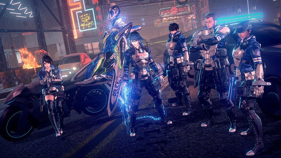 Astral Chain (Nintendo Switch) Screenshot