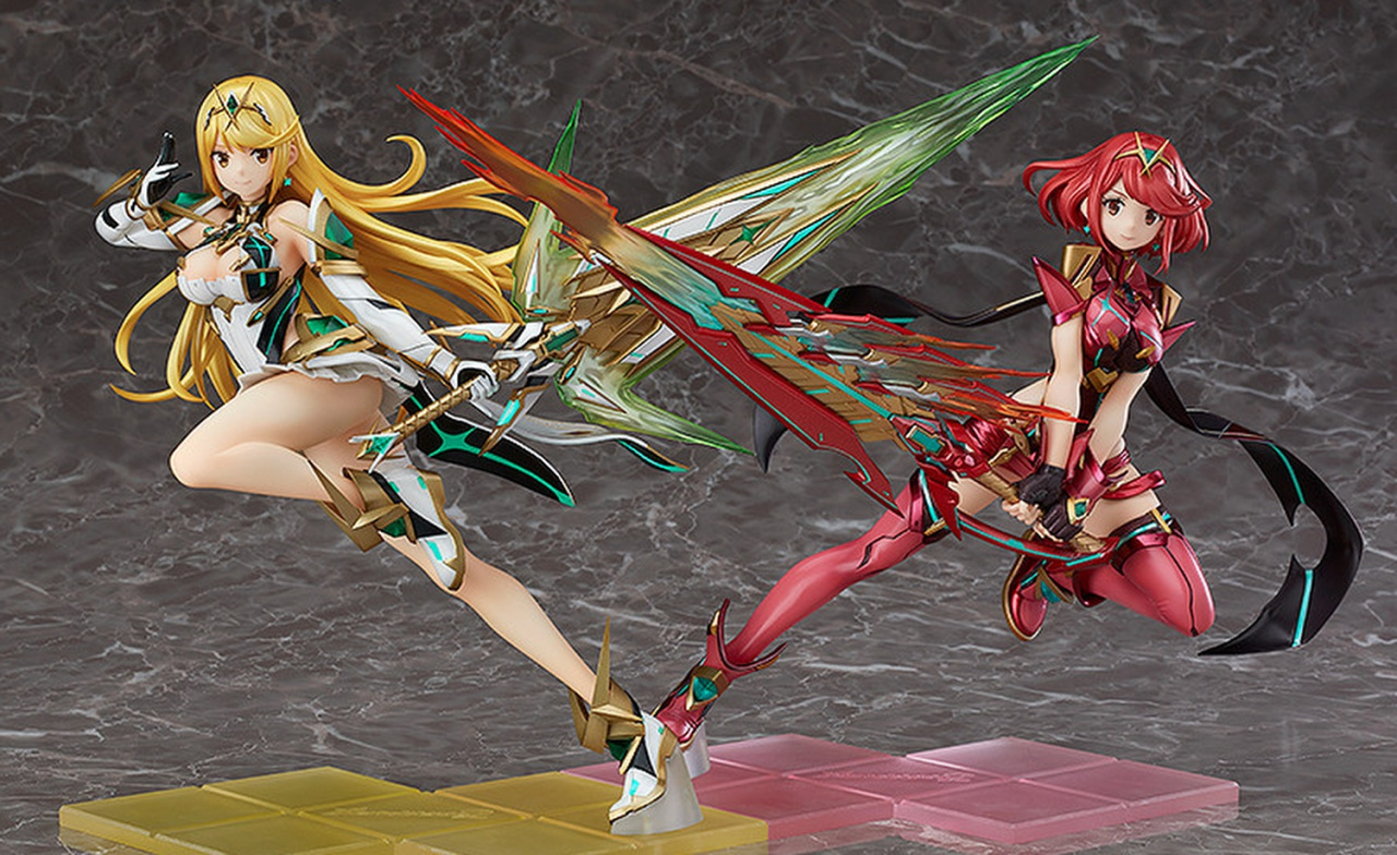 Pyra And Mythra Figures Shown In Sakurai's Smash Presentation Are Up For Pre-Order
