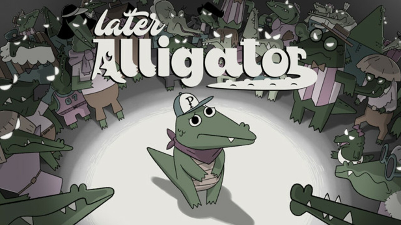 Quirky Point-And-Click Later Alligator Is Being Treated To A Physical Edition And Cute Merch