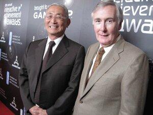Minoru Arakawa and Howard Lincoln - two of NOA's founding fathers