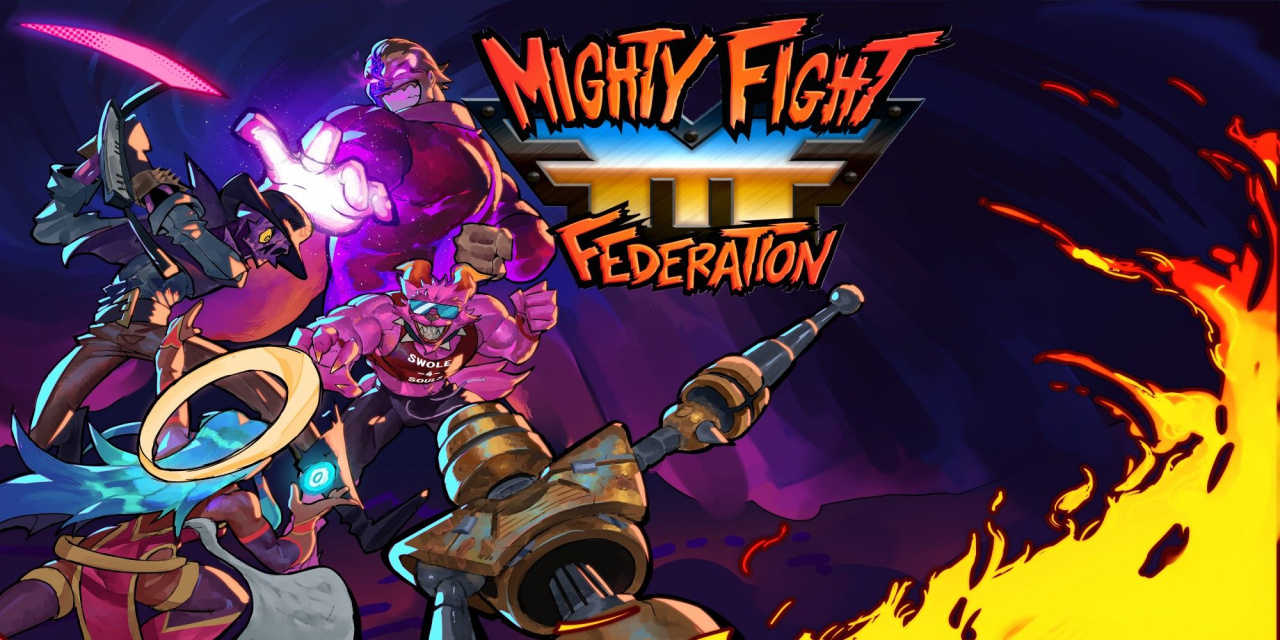 Mini Review: Mighty Fight Federation - Power Stone-Style Brawling Action That's Best With Friends