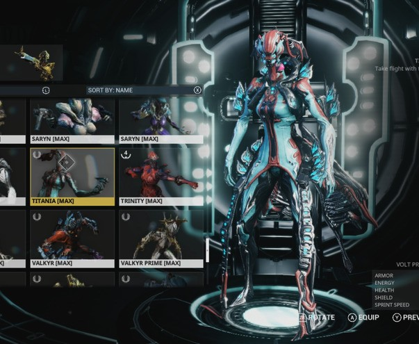 Warframe Menu V2