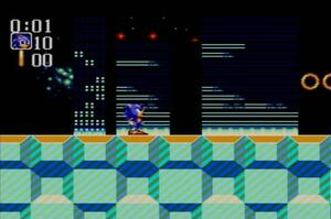 Sonic Chaos, one of the more average Sonic games