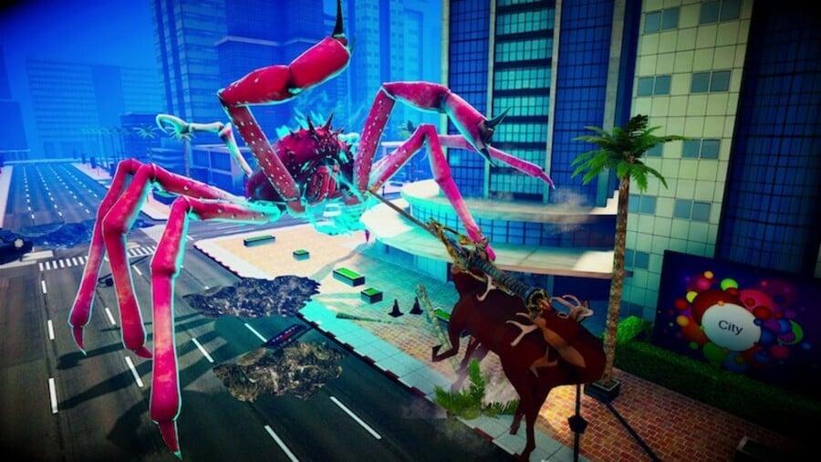 Fight Crab x Deeeeer Simulator