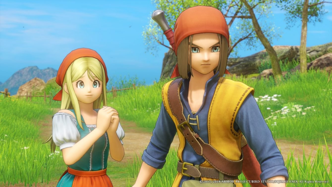Here's Your First Proper Look At Dragon Quest XI S Running On Switch