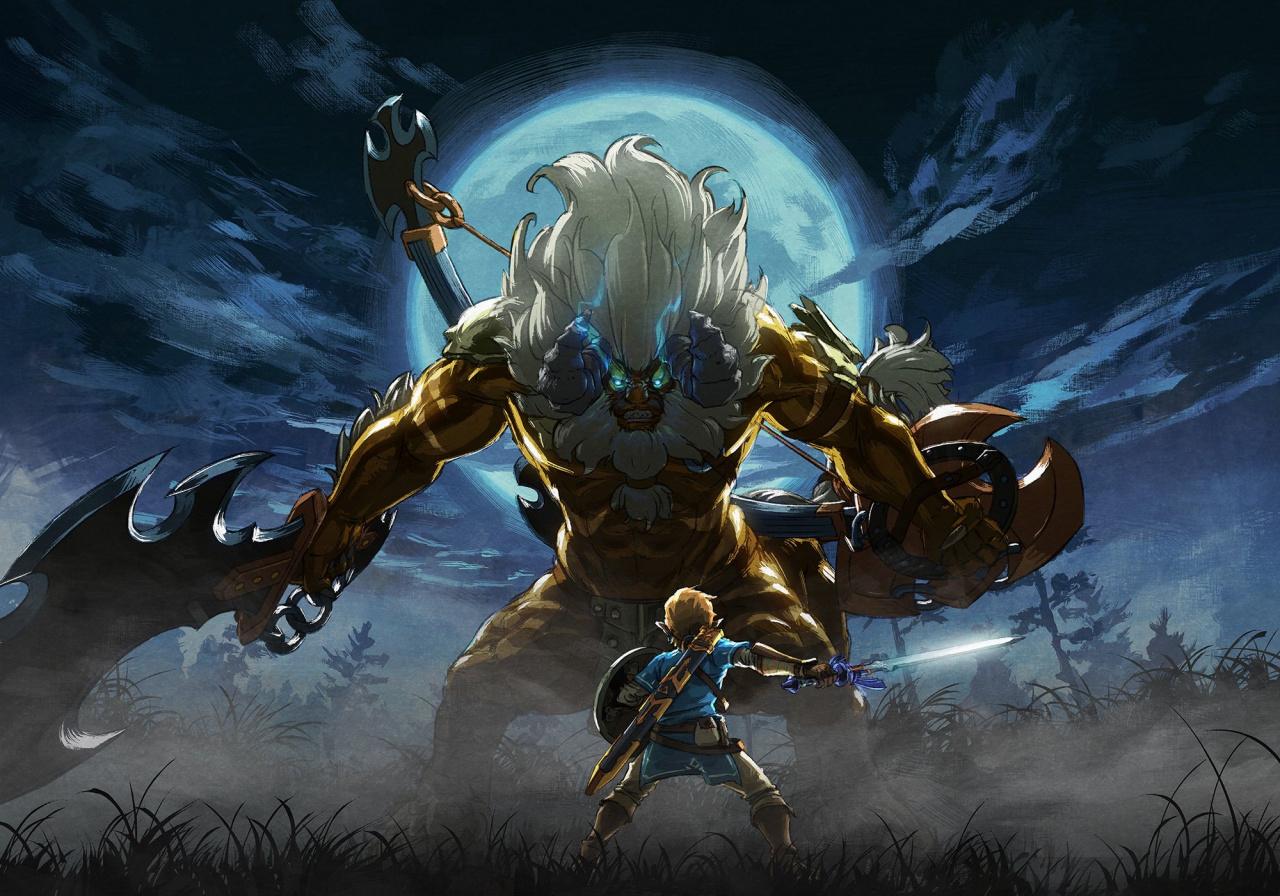 Random: This Unofficial Zelda: Breath Of The Wild Mod Makes It Pad-Smashingly Hard