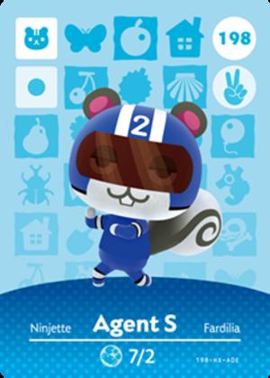Agent S amiibo card