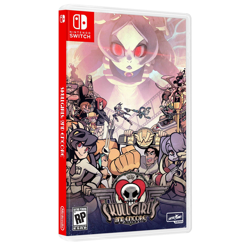 Skullgirls Switch Game