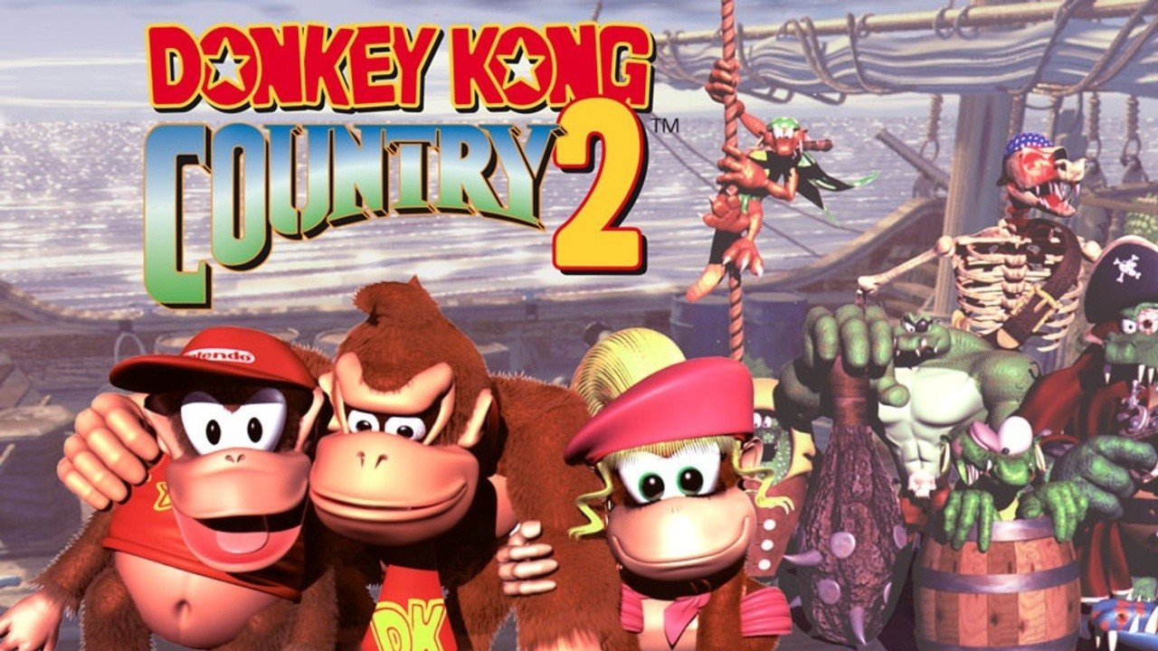 Blimey, Donkey Kong Country 2 Looks Lovely In HD