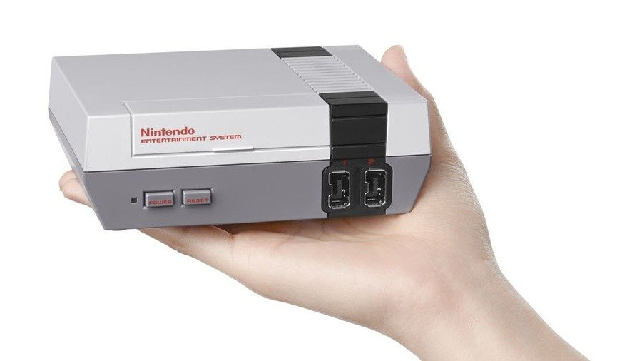 The miniature NES Classic Edition which launched in 2016...