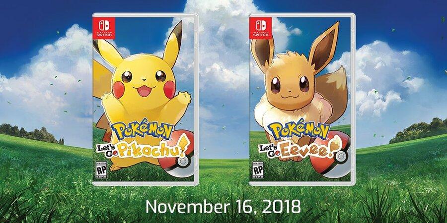 Pre Order Pokémon: Let's Go, Pikachu! and Let's Go, Eevee!