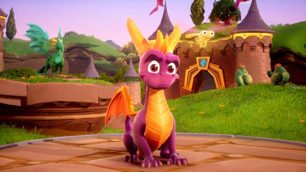 The Physical Version Of Spyro Reignited Trilogy On Switch