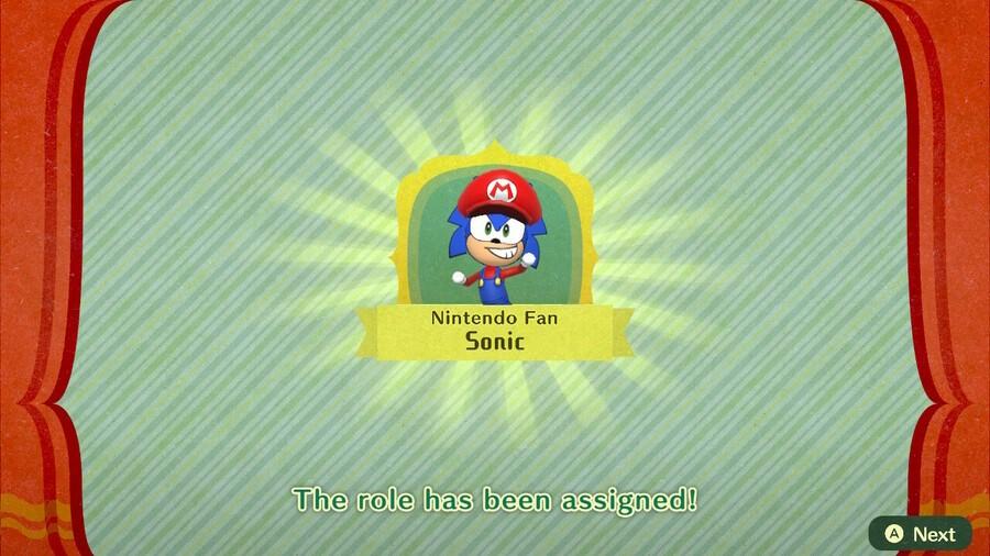 Nintendo Fan Sonic