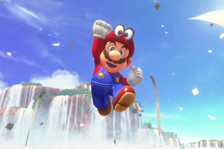 Uk Charts Super Mario Odyssey Triple Jumps 15 Places To
